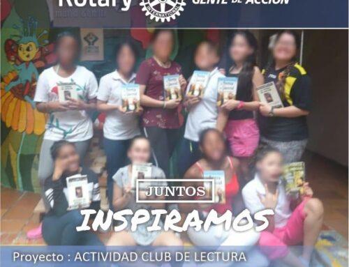 ACTIVIDAD CLUB DE LECTURA INFANTIL NIÑAS DE MARIA GORETTI