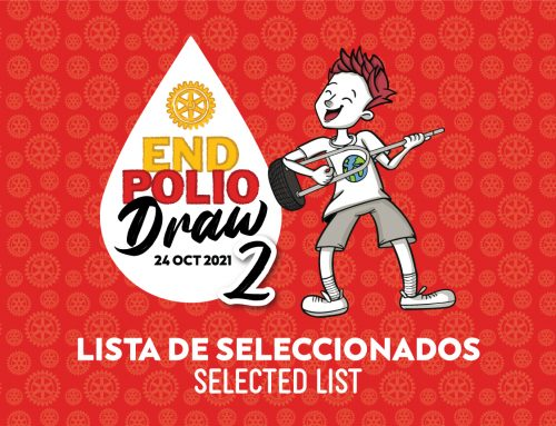 END POLIO DRAW 2 – LISTA DE SELECCIONADOS